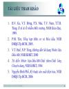 Tập slide bài giảng Nhiên liệu dầu mỡ và chất lỏng chuyên dùng