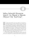 E book IQ testing 101 101 điều về trắc nghiệm IQ