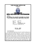 Hệ thống các quyền và nghĩa vụ cơ bản của công dân theo hiếnpháp năm 1992