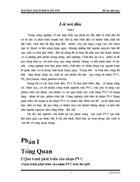 Nghiên cứu thiết kế các phân xưởng sản xuất PVC