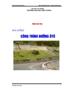 Thiết kế công trình đường ôtô