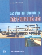 Cac bang tinh toan thuy luc cong va muong thoat nuoc