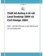 Thiết kế đường Ôtô với Land Desktop 2004 và Civil Design 2004