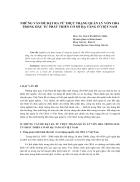 Thực trạng quản lý vốn ODA trong đầu tư phát triển cơ sở hạ tầng ở Việt Nam