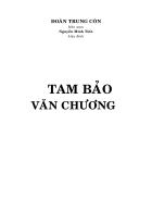 Tam Bảo văn chương