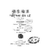 Tho Mai gia le dien nghia Xuat ban 1927