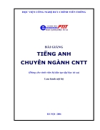 Tiếng Anh chuyên nghành CNTT