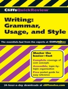 Writings Grammar Usage and Style