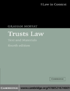 Trusts Law Text and Materials 4th Edition