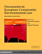 Documents in European Community Environmental Law 2nd Edition