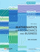 Mathematics for Economics and Business 5th Edition