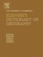 Elsevier s Dictionary of Geography