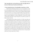 Thực trạng nghề nông ở các hộ gia đình vùng ven khu công nghiệp Khảo sát địa bàn xã Ái Quốc huyện Nam Sách tỉnh Hải Dương