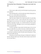 Ngôn ngữ tiếng Trung Sử động pháp và Ý động pháp trong tác phẩm Luận ngữ