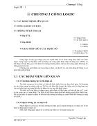 Môn Kỹ Thuật Số