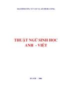 Từ điển thuật ngữ sinh học công nghệ sinh học