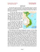 Đa dạng sinh học ở Việt Nam Thực Trạng Giải Pháp
