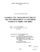Nghiên cứu thăm dò kỹ thuật truyền hình hdtv và mô hình compact nhiều tín hiệu