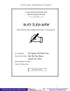 Phân loại bài tập về số nguyên tố