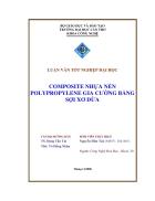 Composite nhựa nền Polypropylene gia cường bằng sợi xơ dừa