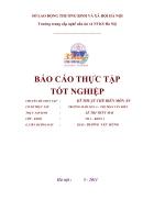Thuc tap To chuc san xuat bo phan che bien bua an cho tre cua Truong mam non Tu Lien