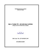 Địa Lý Kinh Tế Xã Hội Việt Nam