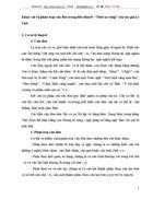 Khảo sát và phân loại câu đơn trong tiểu thuyết Thời xa vắng của tác giả Lê Lựu