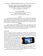 Ứng dụng cảm ứng gia tốc trên điện thoại để điều khiển trò chơi trên máy vi tính