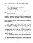 Tiểu luận môn hành chính so sánh TỔ CHỨC NHÀ NƯỚC VÀ NỀN HÀNH CHÍNH SINGAPORE