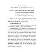 Bản tóm tắt bảo vệ luận án tại hội đồng bộ môn với đề tài Chiến lược đại đoàn kết Hồ Chí Minh được thực hiện trong cuộc kháng chiến chống thực dân Pháp xâm lược 1945 1954