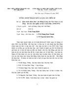 Tổng hợp nhận xét luận án tiến sĩ với đề tài Quá trình nhận thức của Đảng Cộng sản Việt Nam về con đường tiến lên chủ nghĩa x hội ở miền Bắc 1954 1975