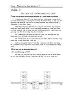 Đồ án tốt nghiệp cấu trúc hệ thống báo hiệu số 7