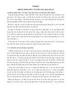 Chương 5 Những hình thức tổ chức dạy học Địa lí