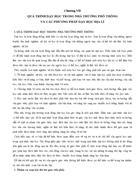 Chương 7 Qúa trình dạy học ở trường phổ thông và các phương pháp dạy học Địa lí