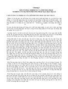 Chương 1 Đối tượng nhiệm vụ và phương pháp nghiên cứu bộ môn phương pháp dạy học Địa lí