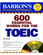 600 esential words for the TOEIC
