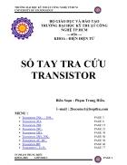 Sổ tay tra cứu transistor