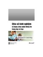 Chia sẻ kinh nghiệm sử dụng CNTT trong dạy va học pdf