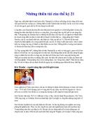 Nhung thien tai cua the ky 21 pdf