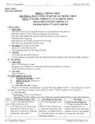 Giáo án Công nghệ 7 chuẩn KTKN