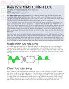 Kiến thức về mạch chỉnh lưu