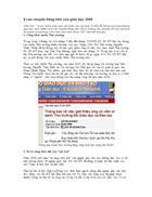 8 câu chuyện đáng nhớ của giáo dục 2008