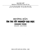 On thi TN Dai Hoc TX Hue Toan