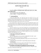 Rèn luyện kĩ năng viết bài văn tự sự cho HS lớp 9