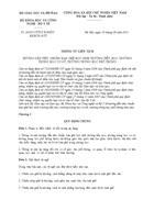 Thông tư liên tịch số 262011TTLT BGDĐT BKHCN BYT