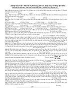 BTTN phản ứng giữa CO2 hoặc SO2 với dd kiềm