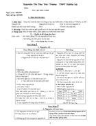 Tập giáo án hóa học 10b