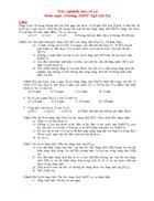 125 câu trắc nghiệm hóa vô cơ