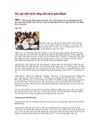 Tác giả viết SGK Lịch Sử bàn luận về chương trinh SGK phổ thông