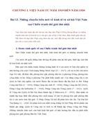 Bài 13 Những chuyển biến mới về kinh tế và xã hội Việt Nam sau Chiến tranh thế giới thứ nhất